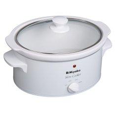 Miyako Slow Cooker SC-630 6.3L - Putih - Gratis Pengiriman  Surabaya, Mojokerto, Kediri, Madiun, Jogja, Denpasar
