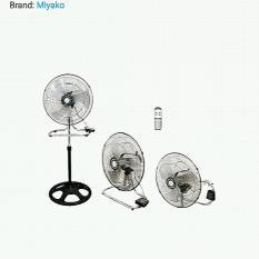Miyako Stand Fan 18RC - Hitam