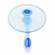 Miyako Wall Fan KAW-1689 RC - Biru