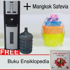 Dispenser Galon Bawah Miyako WDP-300 + Mangkok Safevia (KHUSUS JAKARTA)