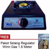 Toko Mls Kgst 102 Kompor Gas 1 Tungku Sni Hitam Gratis Paket Selang Regulator Winn Gas Online Di Dki Jakarta