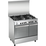 Toko Jual Modena Freestanding Stove 5 Burners 90 Cm Stainless Full Safety Fc3952