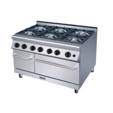 Review Pada Modena Profesional Gr 7060 Go Burner Gas Range With Oven 6 Burner 105Cm Ng Lpg