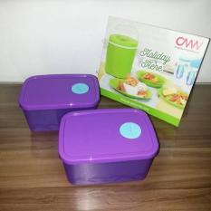 Moorlife Small Freezer Container / Serena / Kotak Freezer Kecil / Kotak Penyimpanan Di Kulkas