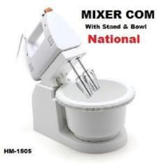 National Mixer Dengan Mangkok Putar National / Mixer Com - Mixer Dengan Mangkok Putar National