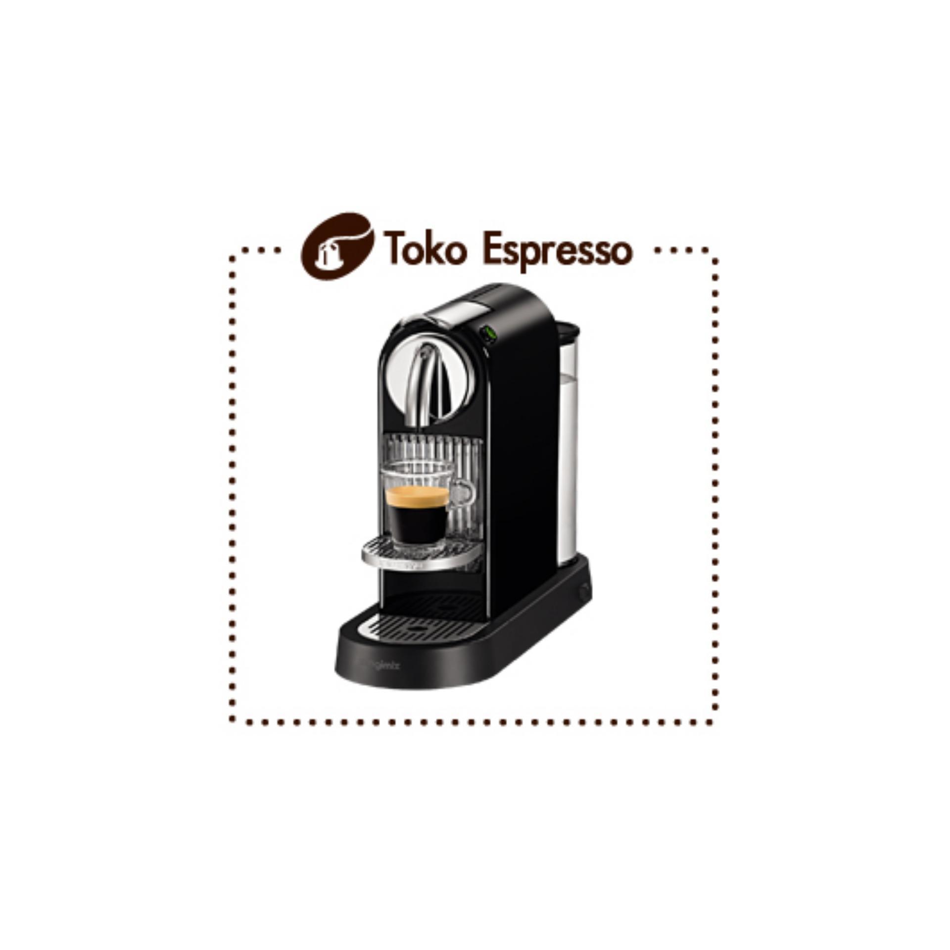 Nespresso - Mesin Kopi CitiZ Black DeLonghi