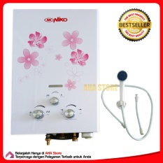 Niko Gas Water Heater  pemanas Air  NK 6L