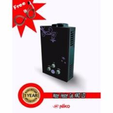 Harga Niko Water Heater Gas Digital Led Display Hitam Satu Set