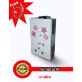 Review Toko Niko Water Heater Gas Instan 6L