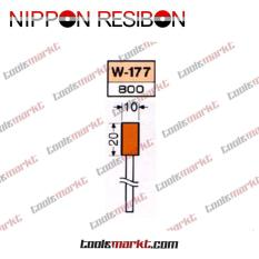 Nippon Resibon W-177 10x20mm Abrasive Resinoid Mounted Wheel W177