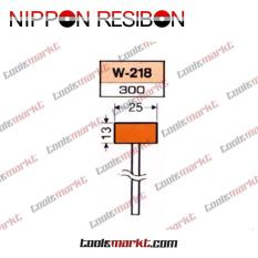 Nippon Resibon W-218 25x13mm Abrasive Resinoid Mounted Wheel W218