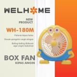 Promo Oem Welhome Kipas Angin Meja Karakter Ukuran 10 25Cm Warna Kuning Banten