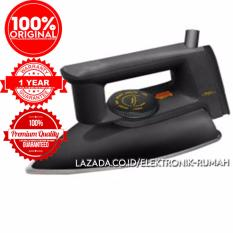 Harga Original 100 Maspion Setrika Anti Lengket Dry Iron Ex1010 Premium Nonstick Soleplate Online