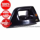Beli Original 100 Maspion Setrika Anti Lengket Dry Iron Ha 130 Premium Anti Stick Sole Plate Layer Online
