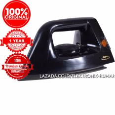 Harga Original 100 Maspion Setrika Anti Lengket Dry Iron Ha 130 Premium Anti Stick Sole Plate Layer Terbaru