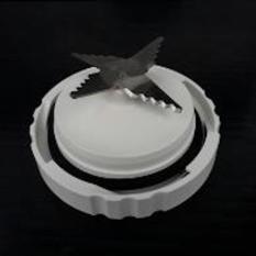 ( Original ) Philips Knife Assy Genuine Part Mata pisau Blender Hr 2115/ Hr 2116 Tanpa Packing