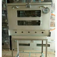 Oven Gas Manual 1 Pintu Ukuran 60X40X50 Cm - A9A7D9