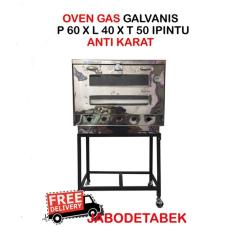 OVEN GAS STAINLESS 60 1PINTU 60x40x50