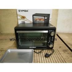 Oven Listrik 18 Liter Pemanggang Listrik Cymba 850Wat (Low Watt)
