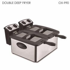 Oxone Double Deep Fryer Ox-990 By Utama Electronic.