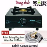 Harga Paket Rinnai Kompor 1 Tungku Ri 511 C Paket Selang Winn Gas Sni Asli