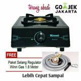 Model Paket Rinnai Kompor 1 Tungku Ri 511 C Paket Selang Winn Gas Sni Terbaru