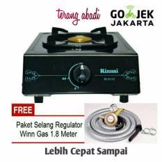 Toko Paket Rinnai Kompor 1 Tungku Ri 511 C Paket Selang Winn Gas Sni Lengkap Di Dki Jakarta