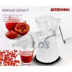 Paling Dicari Akebonno Manual Slow Juicer Ii Ks 0199Z 00271 00008 Terlaris Asli
