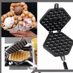 Pan Panggangan Wafel Telur 30 Lubang dengan TEFLON Egg Waffle Maker Pan
