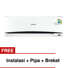 Panasonic Ac 1/2 PK Standard CS/CU-UV5SKP (Free Instalasi + Pipa + Breket)