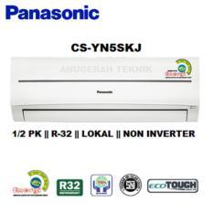 Panasonic AC Split 1/2 PK Standard Lokal R32 Non Inverter - YN5SKJ