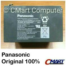 Panasonic Accu Kering 12v 7.2ah Baterai UPS Aki Battery - LC-V127R2NA