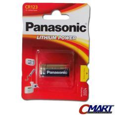 Panasonic CR123 CR 123 Lithium Batere batery baterai baterei CR123A