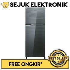 Panasonic NR-BB258G-S Lemari Es / Kulkas Top Freezer 2 Pintu - 246 Liter JADETABEK ONLY