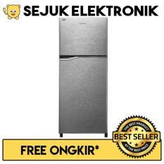 Panasonic NR-BB258V-S Lemari Es / Kulkas Top Freezer 2 Pintu - 246 Liter (JADETABEK ONLY)
