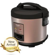 Panasonic Rice Cooker 1.8 Liter Rose Gold / Penanak Nasi / Magic Com / Magic Jar  – SRCEZ18DBSR