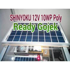 Panel Surya Solar Cell Shinyoku 12V 10Wp Polykristaline - 9C6C6D