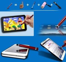 Pen Touch Screen iPhone iPad + Pulpen Tulis + Senter + Laser + Stylus