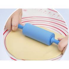 PENGGILING ADONAN SILICONE ROLLING PIN KUE CAKE DAPUR GILING ROLL ROTI