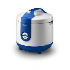PHILIPS Rice Cooker 2 Liter HD3119 - Biru