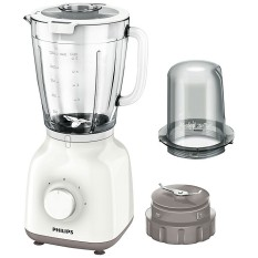 Philips Blender Kaca 1.5 Liter HR2106 - Putih