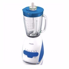 Philips Blender Kaca 2 Liter Hr2116 Biru Original