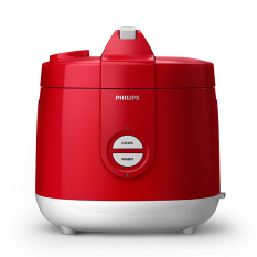 Review Philips Daily Collection Jar Rice Cooker Hd3127 32 Merah
