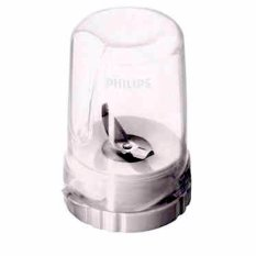 Philips Dry Mill - Gelas Bumbu Kering Blender HR 2115 - 2116 - 2061 dan 2071 - Komplit ( Original Philips )