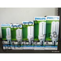 Philips Genie 5W Ww E27  Lampu Hemat Energy  Kuning - 93Dd95