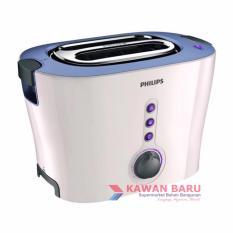Philips HD-2630 Pop Up Toaster Pemanggang Roti - Putih/Ungu