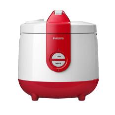 Philips HD 3118/32 Magic Com Rice Cooker - Penanak Nasi - Kap 2 Liter - Merah