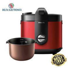PHILIPS HD3132 Rice Cooker Premium Plus [2L/400W] Pemanasan 3D Garansi resmi 2Tahun