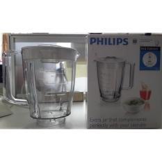 PHILIPS JAR PLASTIK HR2901 UNTUK BLENDER HR2102 / HR2100. ORIGINAL SET