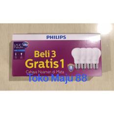 Philips Lampu Led 10Watt- 10W- 10 W- 10 Watt (1Paket Isi 4Pcs) - 6993Ae